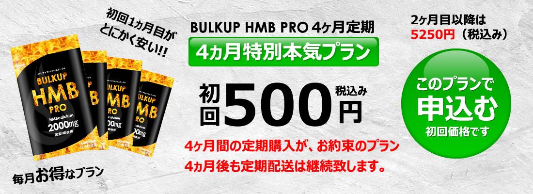 バルクアップHMBプロの料金4